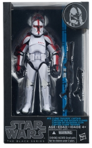 Star Wars - The Black Series - CLONE TROOPER CAPTAIN