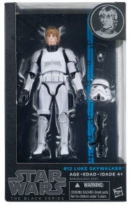 Star Wars - The Black Series - LUKE SKYWALKER (STORMTROOPER DISGUISE)
