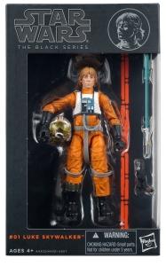 Star Wars - The Black Series - LUKE SKYWALKER (X-WING PILOT)